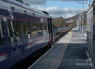 Photograph - Tweedbank Station - Scotrail by Phil Banks