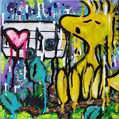 Artwork Painting - Tweet.love by A MiL