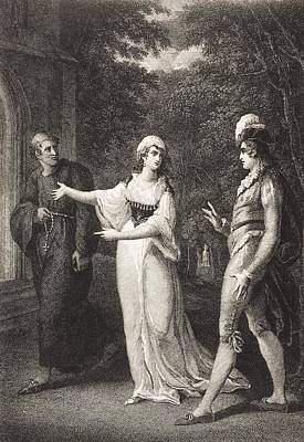 Olivia Drawing - Twelfth Night, Or, What You Will. Act by Vintage Design Pics