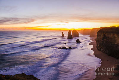 Photograph - Twelve Apostles Limestone Stacks by Jorgo Photography - Wall Art Gallery