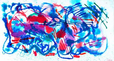 Painting - Twelve by Expressionistart studio Priscilla Batzell