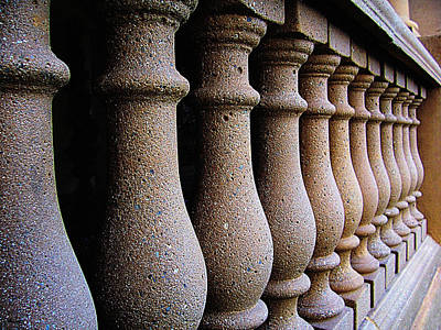 Twelve Pillars Art Print by Glenn McCarthy Art and Photography
