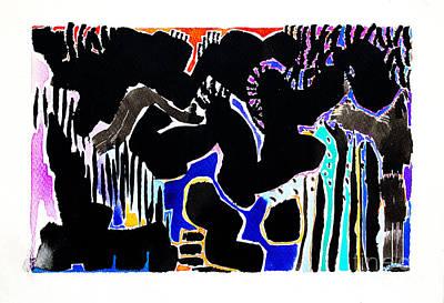 Painting - Twenty Four by Expressionistart studio Priscilla Batzell