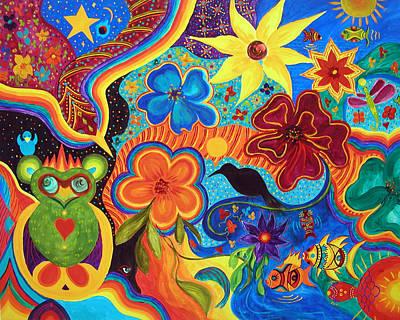 Painting - Bluebird Of Happiness by Marina Petro