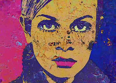 Twiggy 44 A Art Print by Otis Porritt