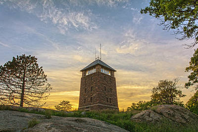 Photograph - Twilght Tower by Angelo Marcialis