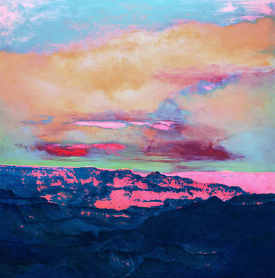 Painting - Twilight 7 by M Diane Bonaparte