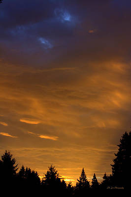 Photograph - Twilight And Dawn Collide by Jeanette C Landstrom