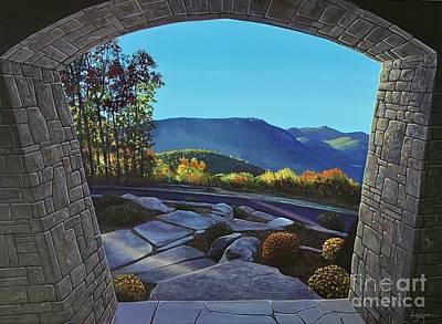 Painting - Twilight At Hunter Ridge by Hunter Jay