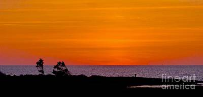 Photograph - Twilight At Pamlico Sound by Jean Wright