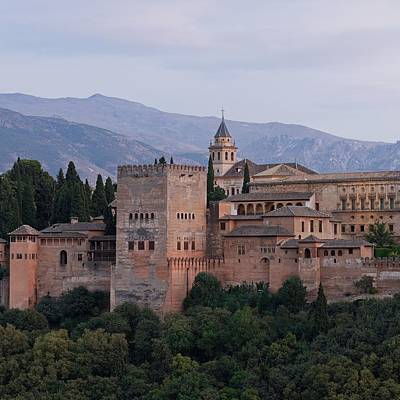 Photograph - Twilight At The Alhambra by Stephen Taylor