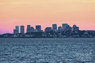 Photograph - Twilight Boston by Ruth H Curtis