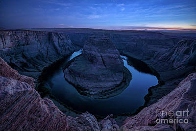 Photograph - Twilight Canyon by Anthony Heflin