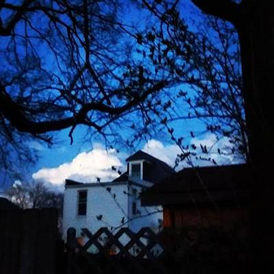 Cloud Wall Art - Photograph - Twilight Capture. Big Puffy Cloud by Genevieve Esson