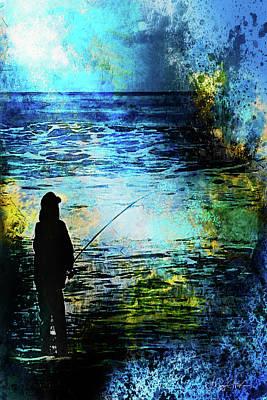Digital Art - Twilight Cast by Jo-Anne Gazo-McKim