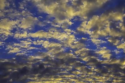 Twilight Clouds Art Print by Garry Gay