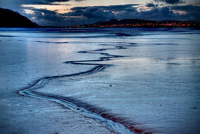 Photograph - Twilight, Conwy Estuary by Peter OReilly