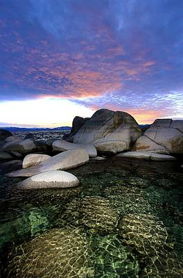 Photograph - Twilight Cove by Sean Sarsfield