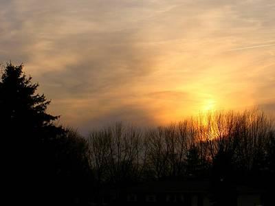 Photograph - Twilight Gold by Carolyn Jacob