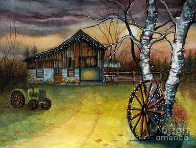 Painting - Twilight Hour by Janine Riley