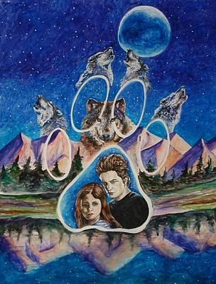 Twilight Imprinting Art Print by Andrea  Darlington