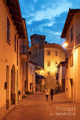 Vino Photograph - Twilight In Barolo by Brian Jannsen
