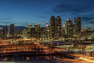 Photograph - Twilight In Calgary by Martin Capek