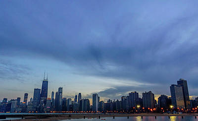Chicago Skyline Photograph - Twilight In Chicago by Med Studio