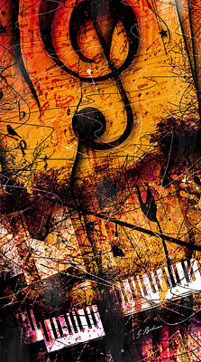 Twilight In E Minor Art Print by Gary Bodnar