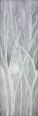 Featured Tapestry Designs - Twilight in Gray II by Shadia Derbyshire