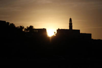 Photograph - twilight in Jaffa. by Shlomo Zangilevitch