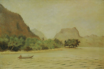Painting - Twilight In Samoa by Louis Michel Eilshemius