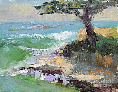 Painting - Twilight In Santa Cruz by Sandra Smith-Dugan