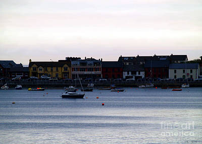 Photograph - Twilight In The Harbor At Skerries by Patricia Griffin Brett