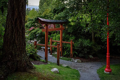 Photograph - Twilight In The Zen Garden by Keith Boone