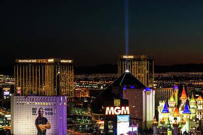 Tropicana Las Vegas Photograph - Twilight  by James Marvin Phelps