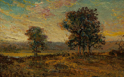 Painting - Twilight by Julian Onderdonk