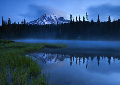 Lenticular Photograph - Twilight Majesty by Mike  Dawson