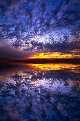 Photograph - Twilight Meditation by Phil Koch