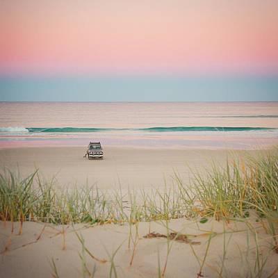 Twilight On The Beach Art Print