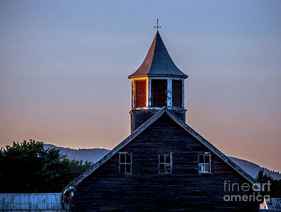 Photograph - Twilight On The Farm by James Aiken