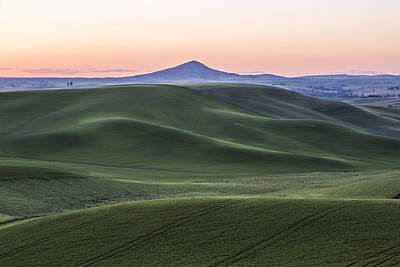 Photograph - Twilight On The Palouse by Jon Glaser