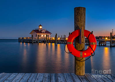Photograph - Twilight Over Roanoke Sound by Anthony Heflin
