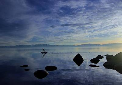 Photograph - Twilight Paddle  by Sean Sarsfield