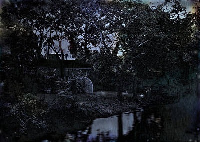 Altered Image Photograph - Twilight Past by Colleen Kammerer
