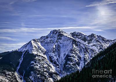 Twilight Peak Colorado Art Print