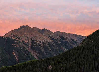 Photograph - Twilight Peak - San Juan Mountains by Loree Johnson
