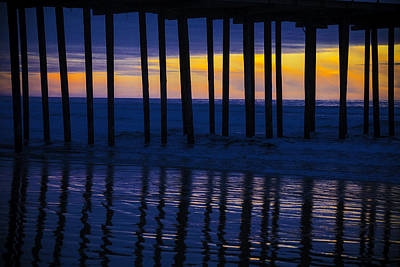 Luis Photograph - Twilight Pier by Garry Gay