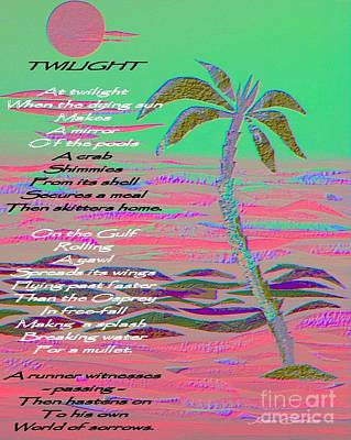 Painting - Poetry Over Tropical Image by Jean Clarke