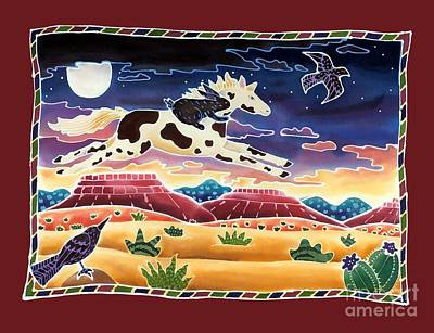 Mustang Painting - Twilight Ride by Harriet Peck Taylor